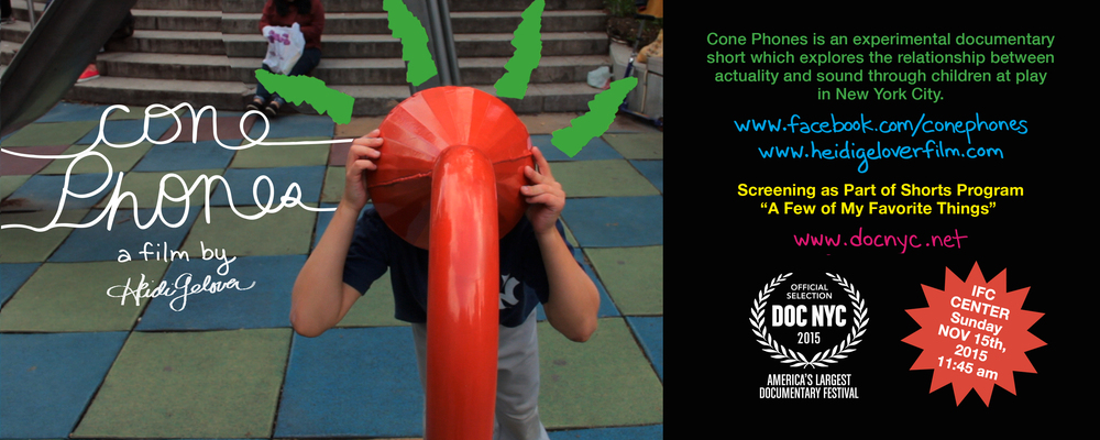 CONE PHONES to screen at DOC NYC!