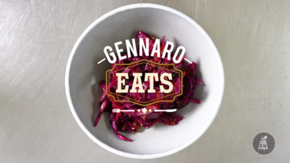 GENNARO EATS SERIES GRAPHICS