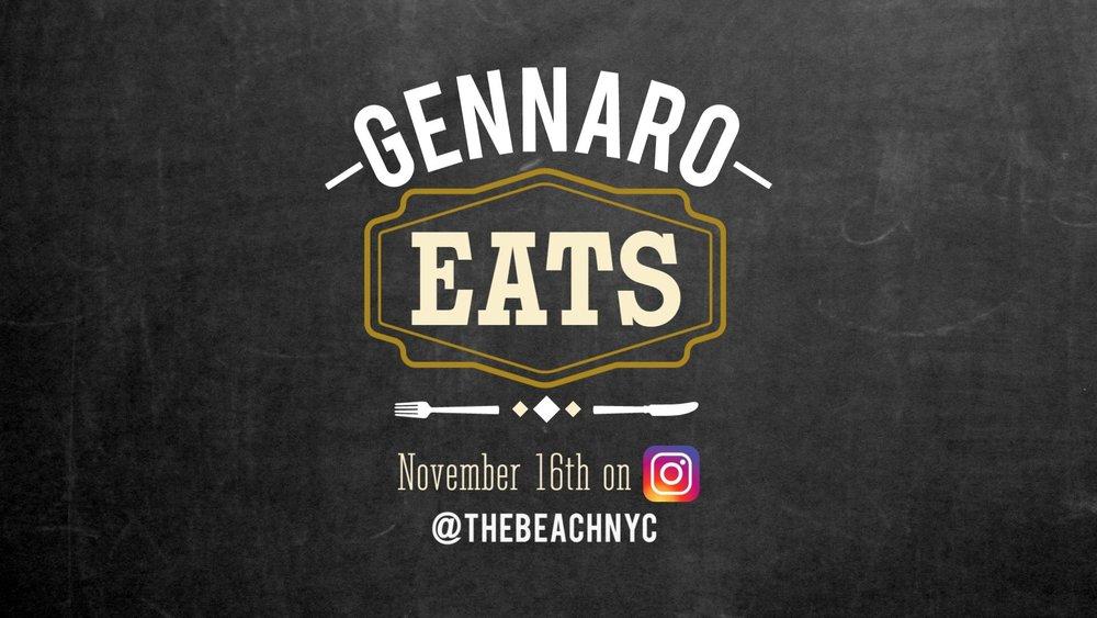 GENNARO EATS SERIES GRAPHICS