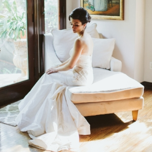Yana + alex // green wedding shoes