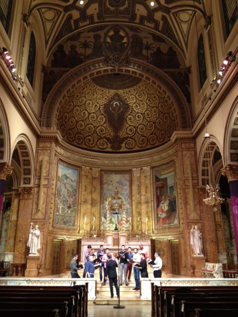 From the grandeur of St  Ignatius Loyola to the grandeur of Stanford's