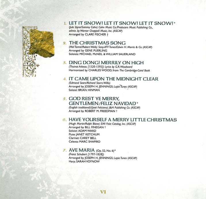 Christmas song let it snow lyrics