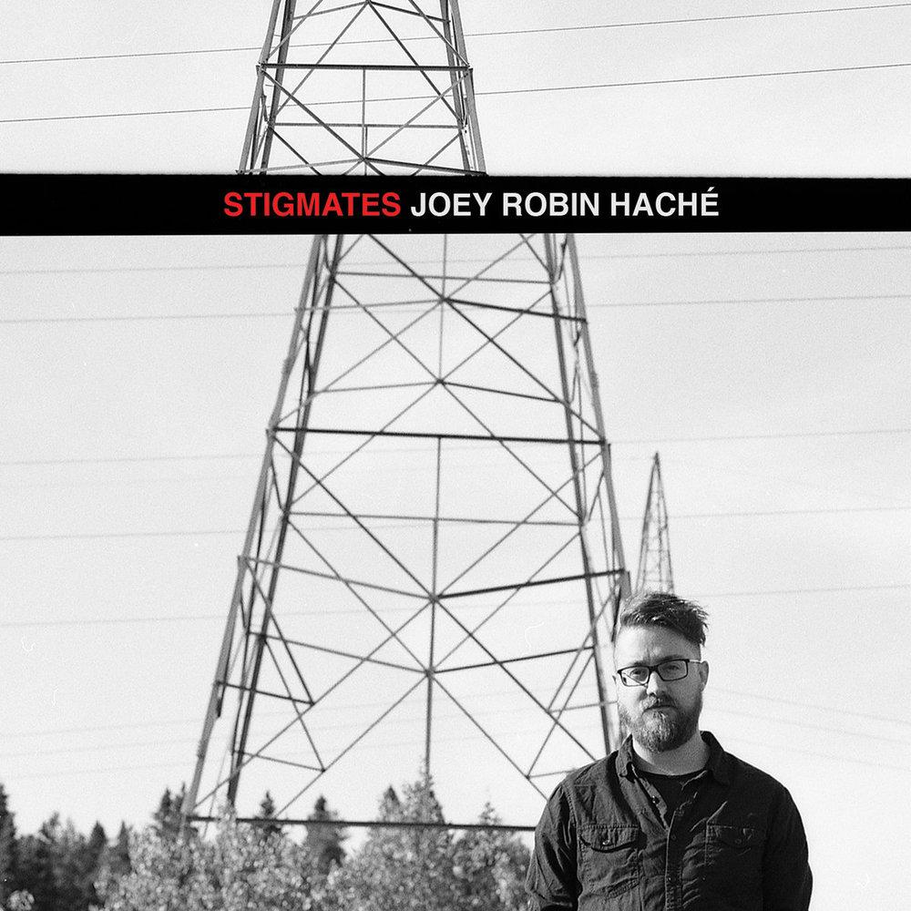 Joey Robin Haché -Stigmates Photographie : Annie France Noël (Studio AFN) - Pellicule 120mm Film Graphic Design : Joey Robin Haché