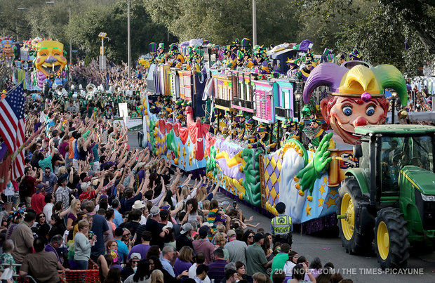 Soulard Mardi Gras GrandParade