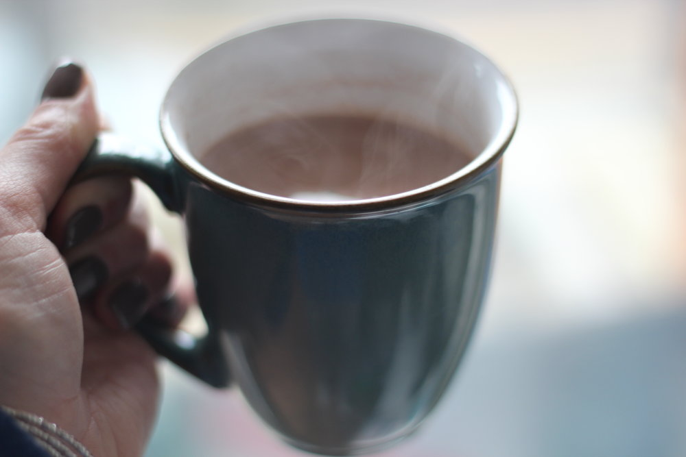 Dark chocolate hot chocolate