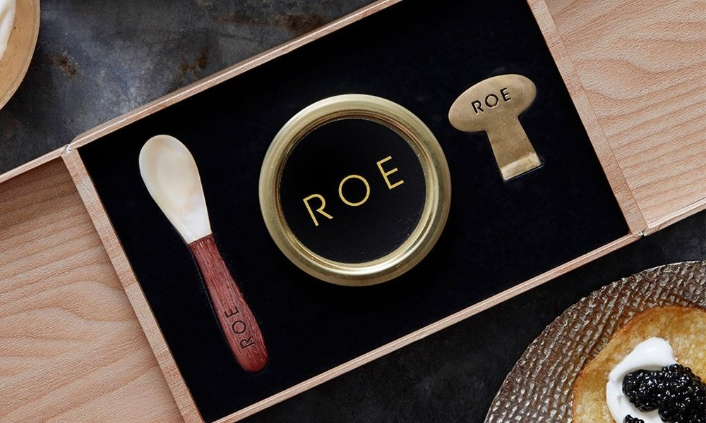 - ROE CAVIARROE is a specialty food brand providing authentic, high quality experiences for consumers who believe caviar is best when shared. Our white sturgeon caviar IS sustainably farmed by aquaculture in California and consistently draws praise from our many loyal customers. A real luxury for any oCcasion, Roe is the perfect gift for the upcoming holiday season.CHECK OUT OUR OFFERINGS HERE.
