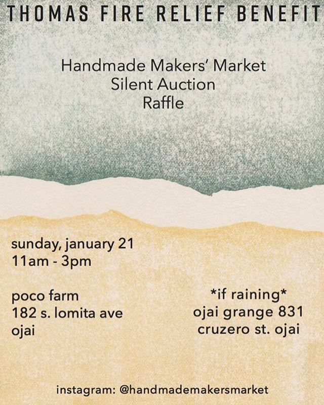 Hope to see you there! @handmademakersmarket