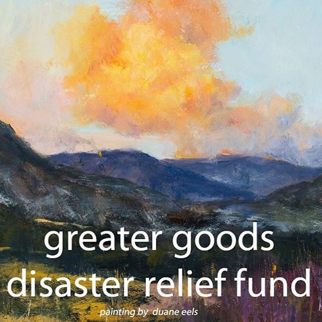 greater goods disaster relief fund is currently supporting those in the Ojai Valley who have significant loss and little support. Check out their website for more info greatergoodsojai.org #ojai #thomasfire #thomasfirerelief