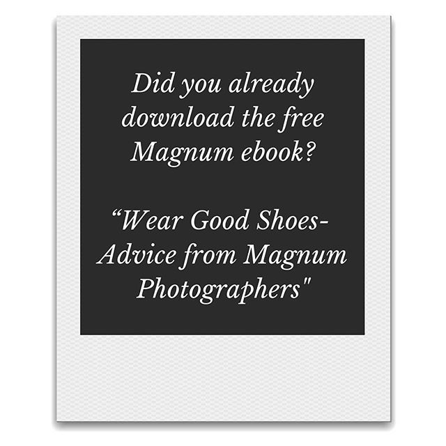 Do you want to make better pictures, work on your vision and get some inspiration? . Magnum made a 60-page PDF, I highly recommend you to download it. No e-mail required just got to @the_monochrome_journal bio and download the e-book directly. Great read! @magnumphotos