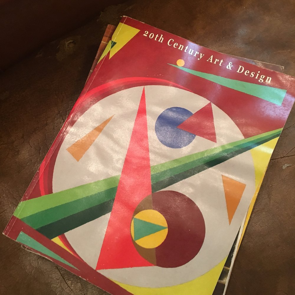 Gotta Graphic Designer in the family? Give them vintage graphic design books.