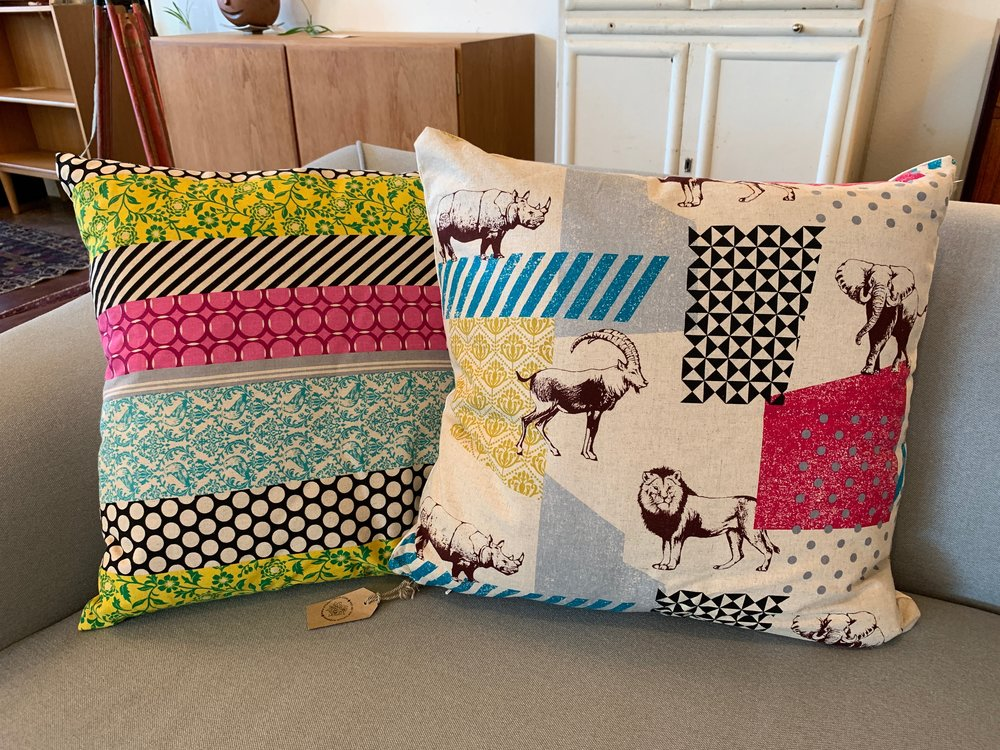 These fun Studio Tullia designs infuse a fresh pop of color into your home decor.