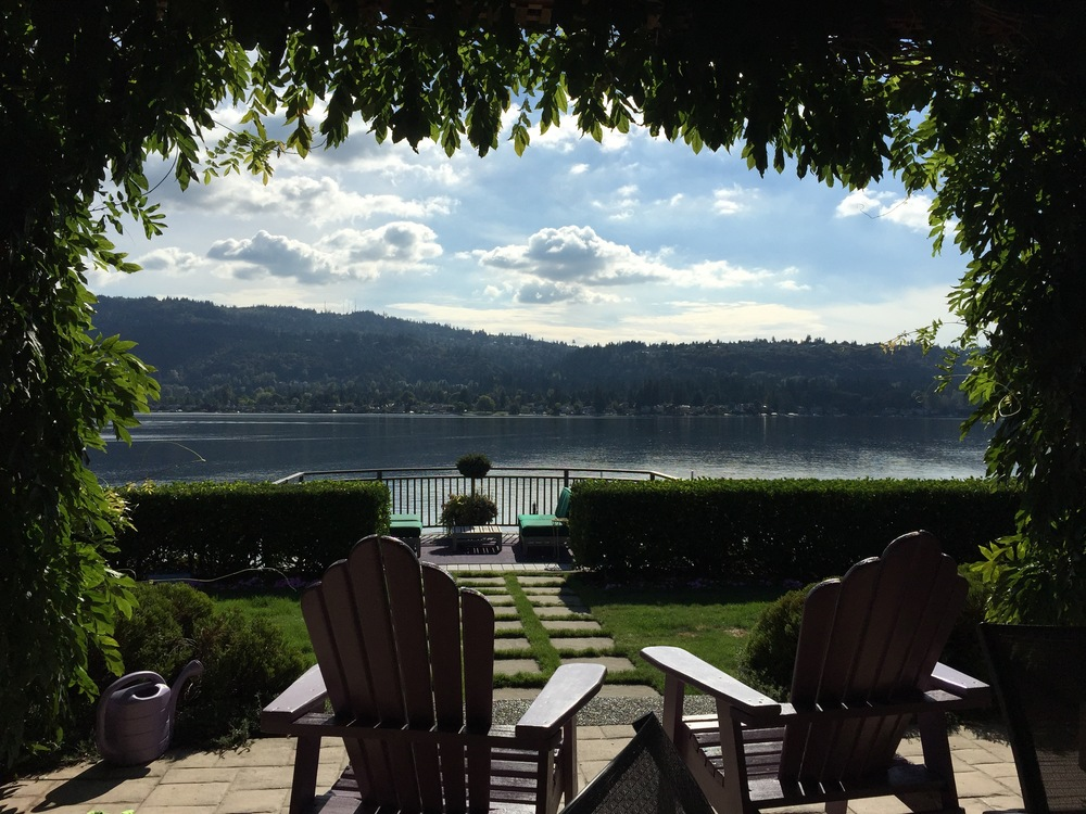 Took a day to relax with friends in Lake Sammamish