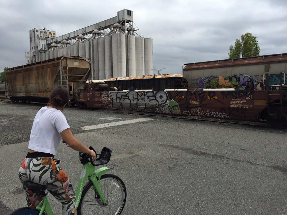 Adventuring through industrial nooks