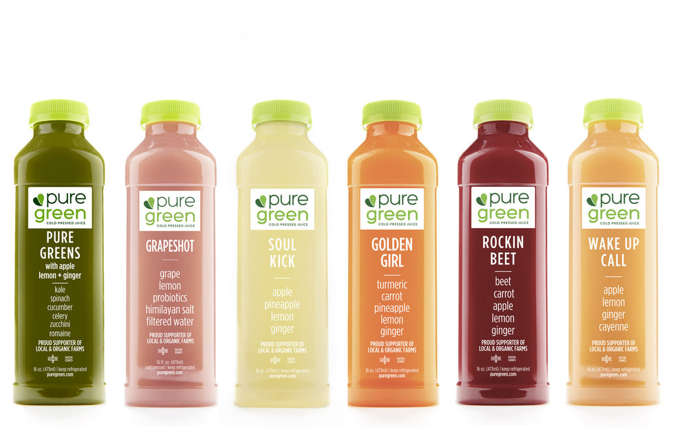 Inspiration Subscription Cold Pressed Juice
