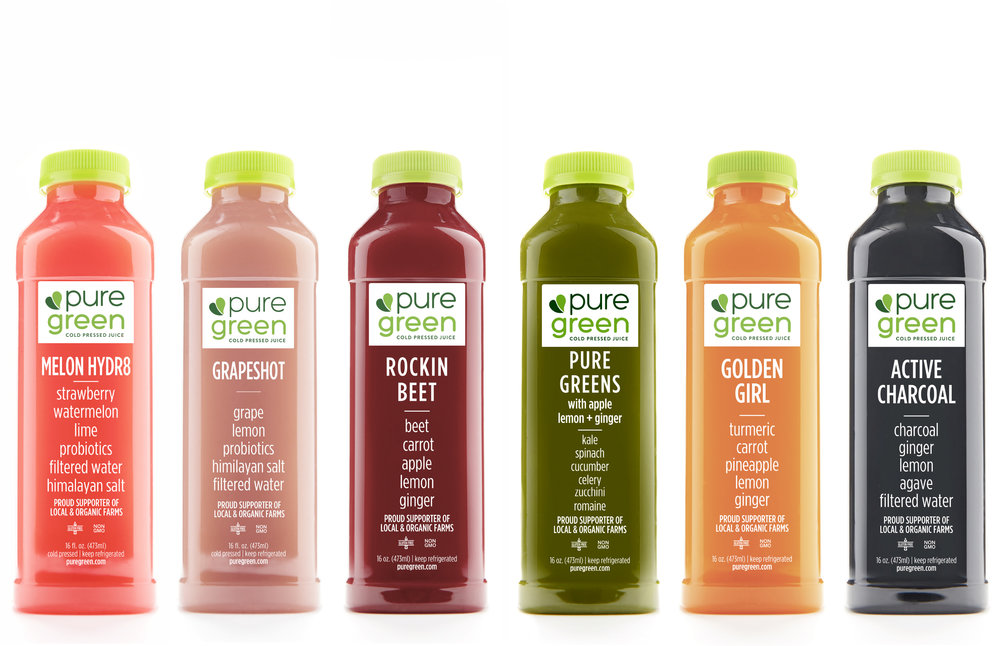 Pure Performance Cold Pressed Juice Subscription