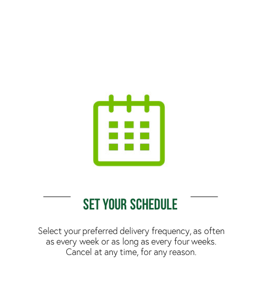 Schedule Your Cold Pressed Juice Subscription