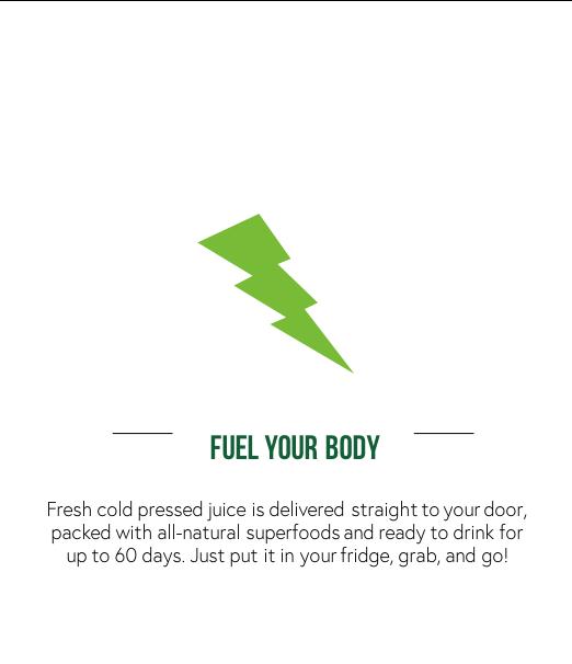 Cold Pressed Juice Superfoods to Your Door