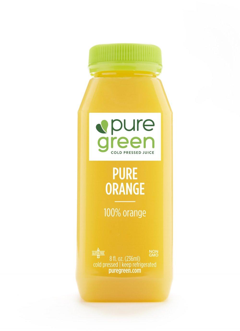 Pure Orange Cold Pressed Juice