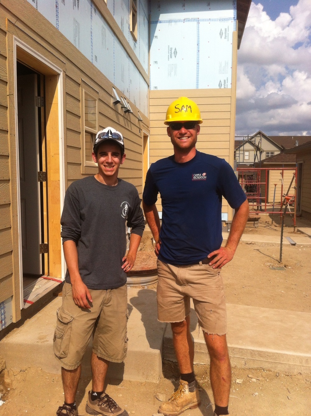 Aspen Builders workers volunteer for Habitat for Humanity projects every year.