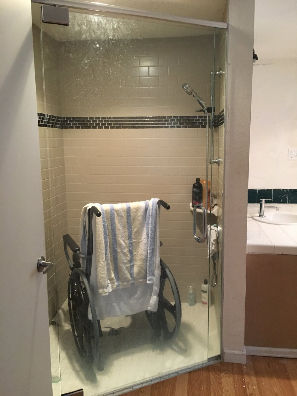 Home Builders Foundation roll-in shower
