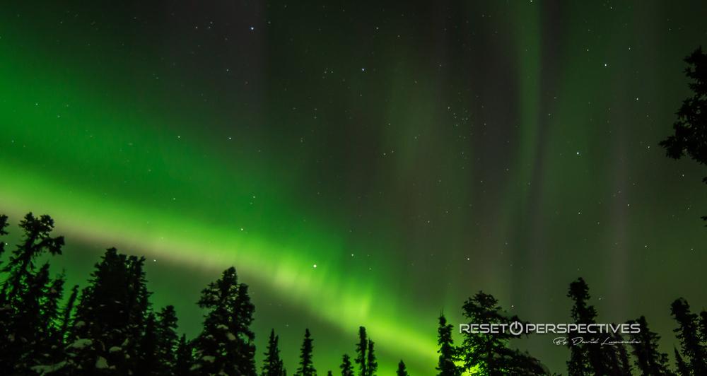 Aurora Borealis, Fairbanks Alaska. March 15, 2012.