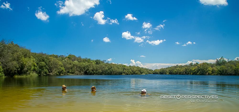 Keyholes,North Stradbroke Island, Queensland, Australia