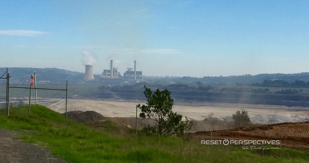 Yallourn open cut coal mine