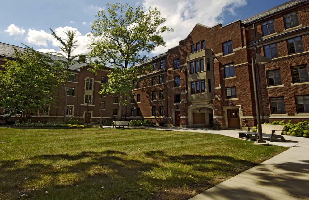 University of Michigan Campus - Ann Arbor, Michigan - Setting for Dry World.