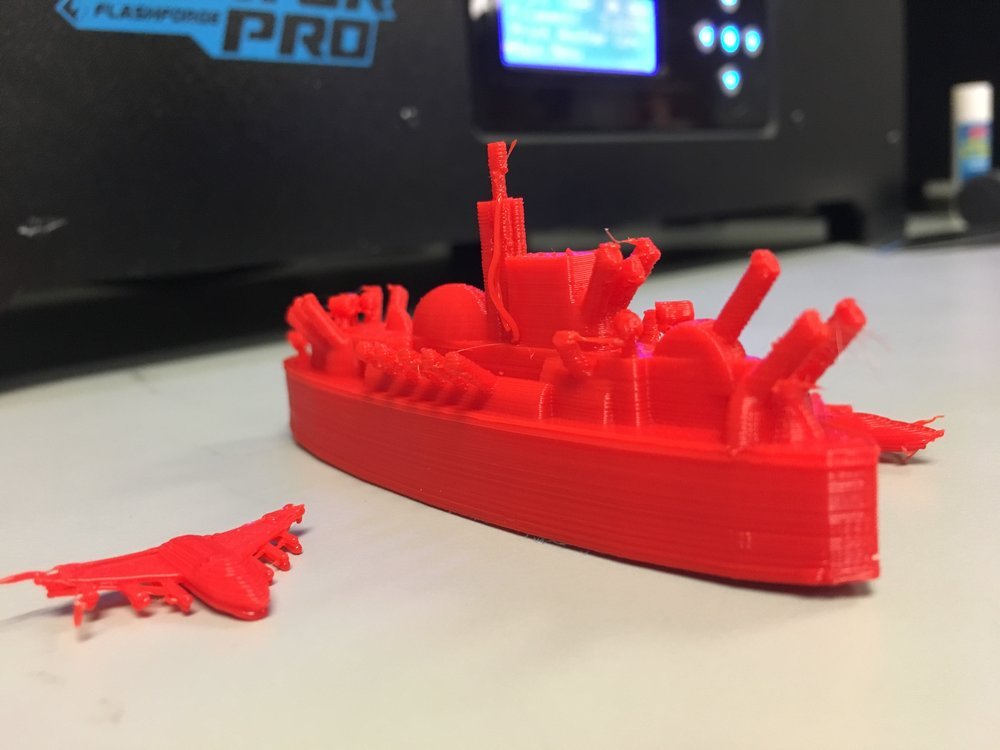 3D modeling & printing