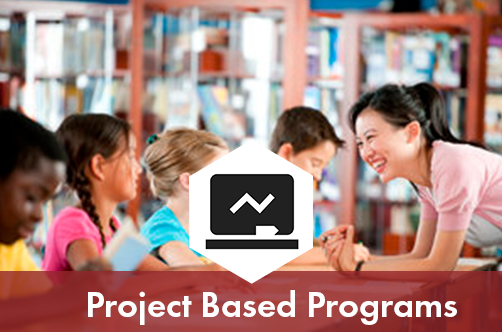 Project based programs:      Students are free to venture deep into their own creativity in this unique educational setting. Within a group of 4 or more, students will explore and challenge ideas in STEM areas such as Drone Programming, 3D Printing and Design, VR animated storytelling and JavaScript programming. We encourage students to think critically as they design, test, and build their own unique projects, and work collaboratively with their peers