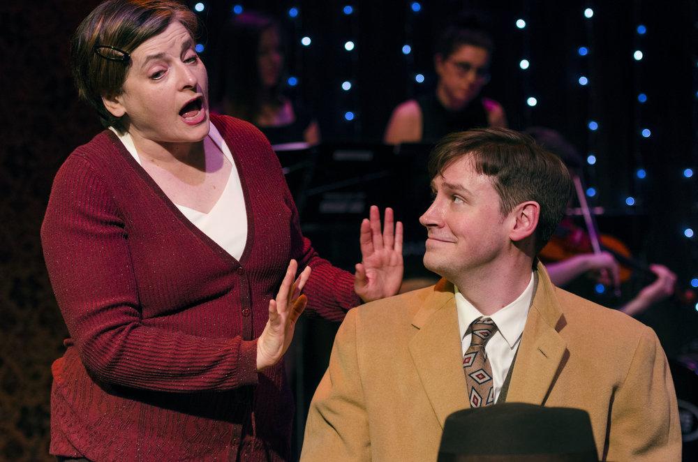 Rosalind Hurwitz (Fraulein Schneider)& Cory Hardin (Cliff)
