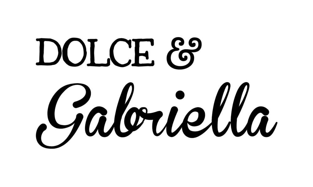 """Dolce & Gabriella"" branding (2014)"