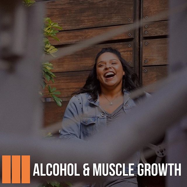 Posted @withrepost • @badgal_lexyyy Does alcohol affect muscle growth?  A study revealed that consuming alcohol post workout reduced muscle protein synthesis (MPS)  by 24% & 37% when consumed with carbohydrates. —————————————————————————— Along with slowed MPS, alcohol negatively impacts fat loss. Alcohol alters hormone levels (especially testosterone) slows the metabolism & decreases the bodies ability to burn fat. —————————————————————————— If you are dieting to lose weight I highly suggest reducing alcohol intake to 1-3 times a month. Avoid binge drinking as much as possible. Limit yourself to 1-4 drinks a night depending on size & gender. —————————————————————————— Check out my story for ways to avoid losing gains while drinking!  #buildingbetterathletes #PHSportsNutrition #athletes #nutrition #food #drink