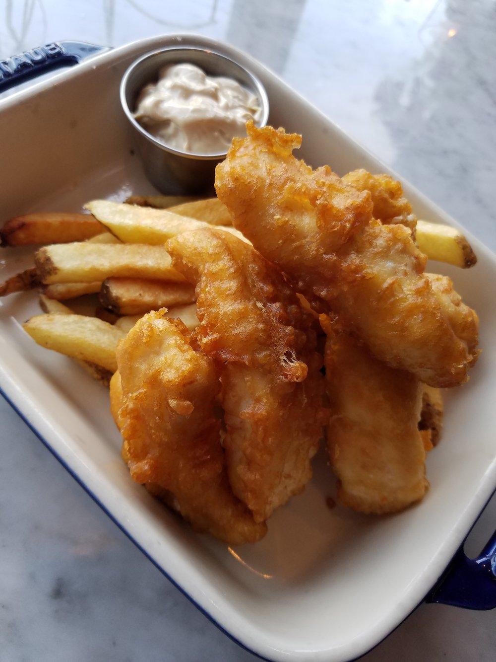 THURSDAYSFish & Chips - With Malt Vinegar Mayo