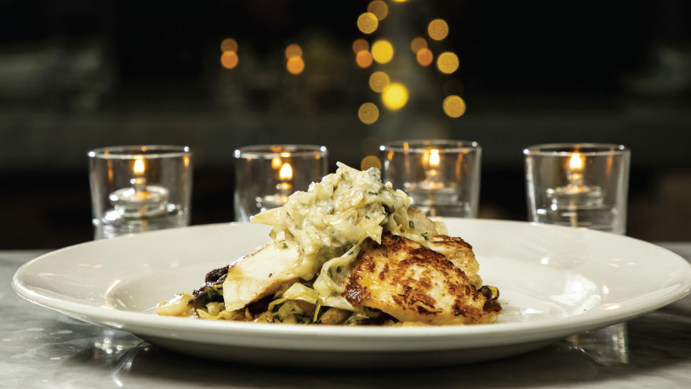 PHOTOGRAPHY BY JOEL LERNER,  via  Hinsdale Living   | Wood-grilled sturgeon at Vistro