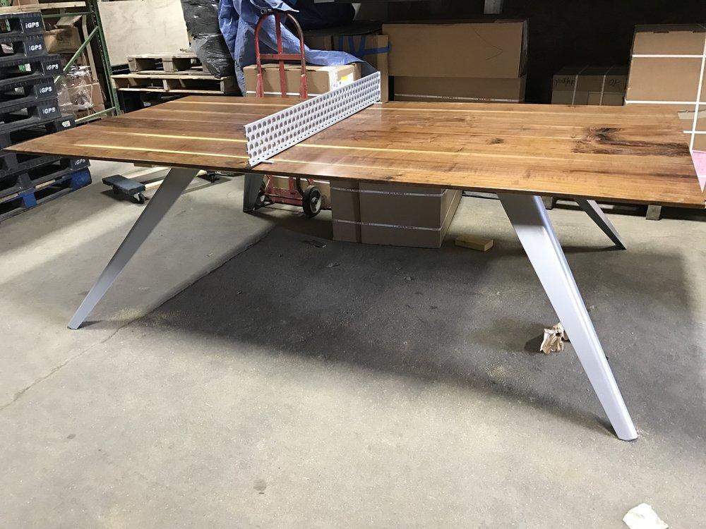 Tagged: Walnut Wood Work, Walnut Ping Pong Table, Custom Walnut Wood Work,  Live Edge Walnut, Wood Working Maryland, Custom Wood Work, Live Edge Black  Walnut ...