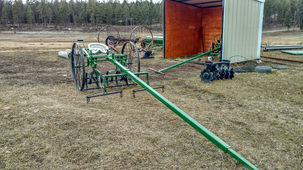 Pioneer homesteader - harrow attachment  ALSO BEING SOLD