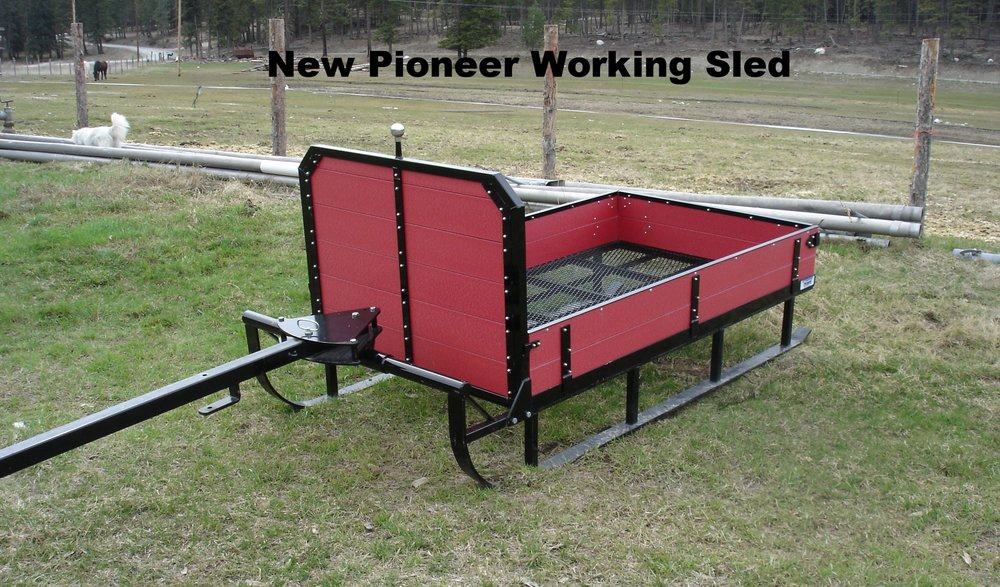 New Pioneer Working Sled