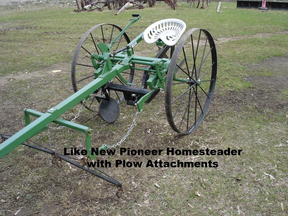 Like New Pioneer Homesteader with plow attachment.JPG