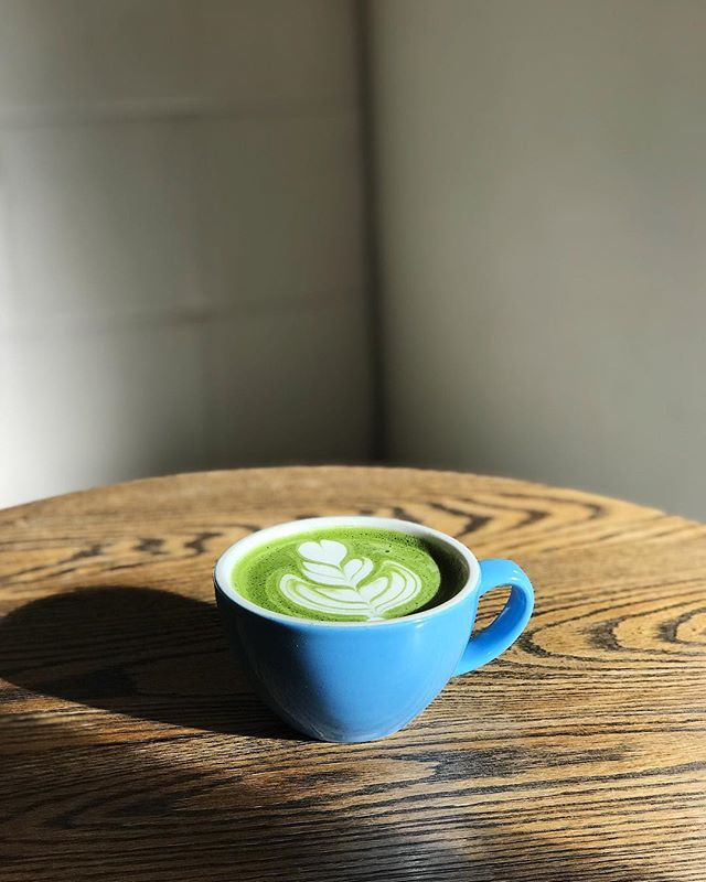Definitely a matcha latte kind of day don't you think? 😊
