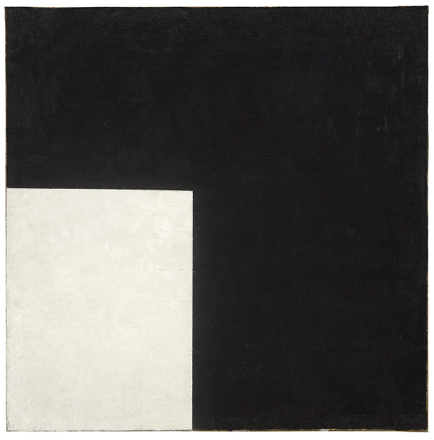 istmos: Kazimir Malevich, Black and White Suprematist Composition, 1915