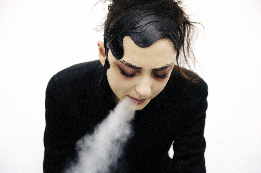 crashmagazine :   Backstage at Yohji Yamamoto spring 2015 by Elise Toïdé fro  Crash