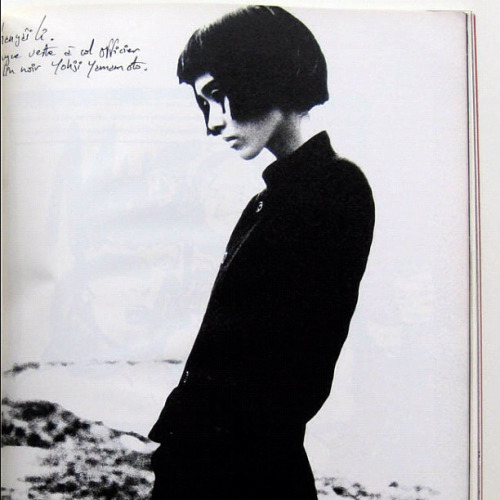 november-blog :     yohji Yamamoto, ca. 1983 http://instagr.am/p/VUiC5xiGNl/