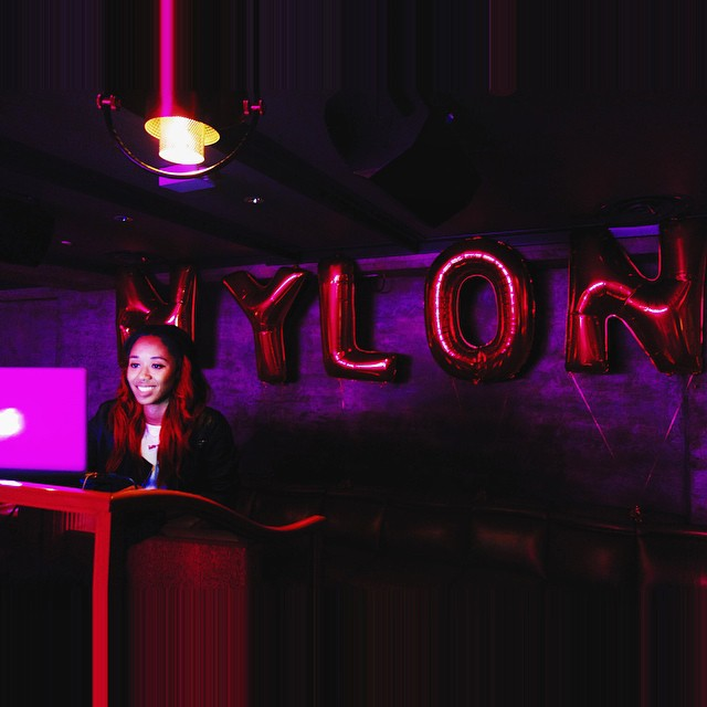 "I had soooo much fun djing @nylonmag ""It Girl"" Prom Night party 💥💥💥 @charli_xcx was sooo good!!!"