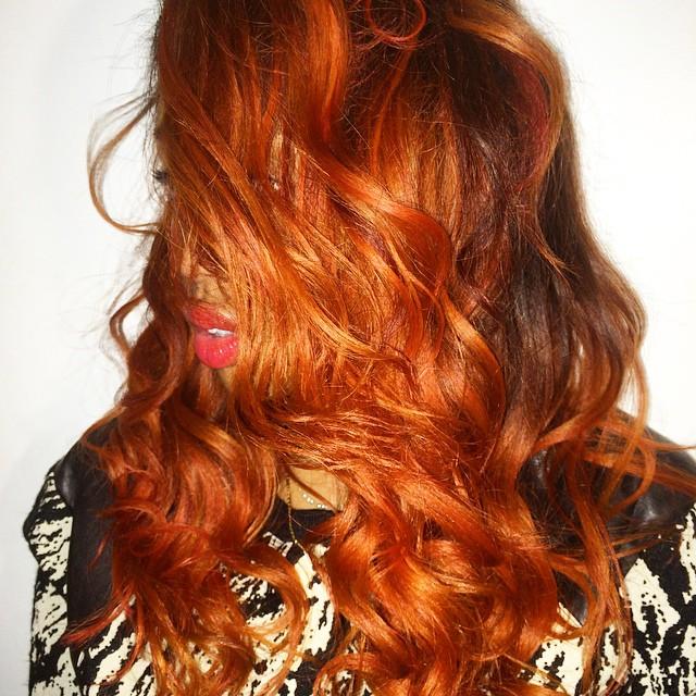 New hair alert: hot like 🔥🔥🔥#NYFW