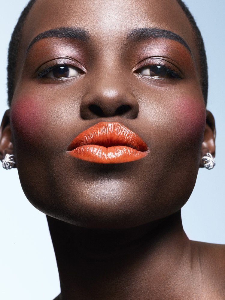 stormtrooperfashion :     Lupita Nyong'o by  Philippe Salomon  for   ESSENCE Magazine  , March 2014
