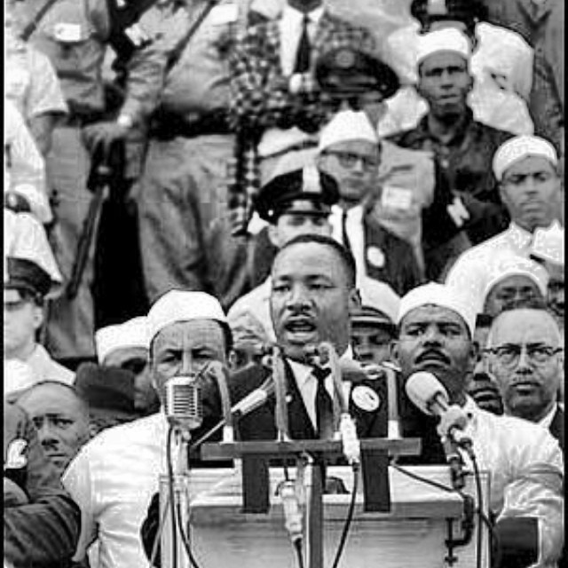 Happy MLK day! This photo always warms my heart. So Proud that my Papa is on the right and could be apart of one of the most powerful moments in history. We should be grateful for all who paved the way for us today. #neverforget