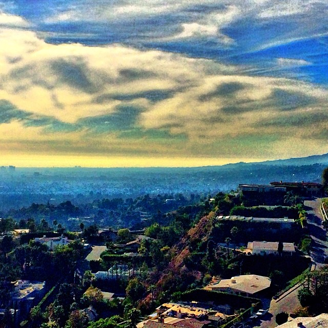 Let's take a long walk… #hillside #la