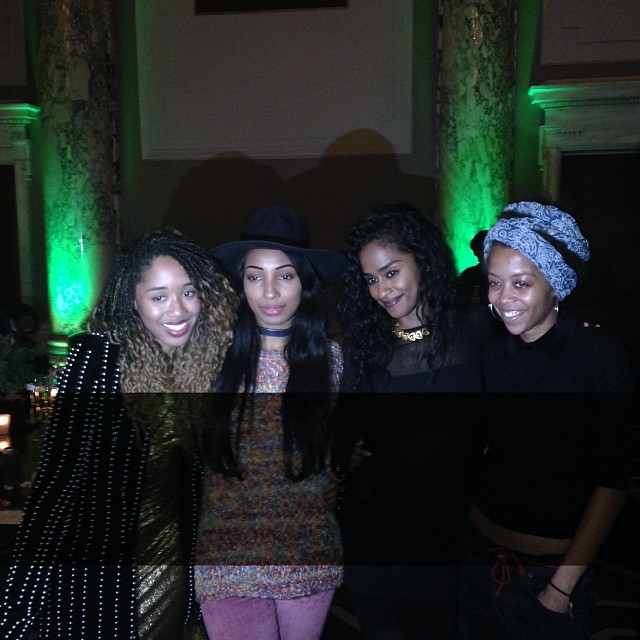 #nofilter needed… Had an amazing dinner with my beautiful friends  @vashtie @brandeebrown @wyntergordon #HKNFF