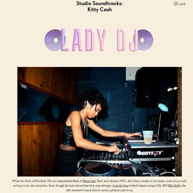 Check out the holiday tunes I love to boogie down to on @nastygal ! Make sure you listen to #lovethefree too! #ladydj